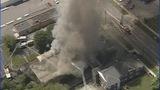Firefighters battle Salisbury funeral home fire - (12/25)