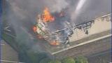 Firefighters battle Salisbury funeral home fire - (14/25)