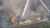 Firefighters battle Salisbury funeral home fire - (22/25)