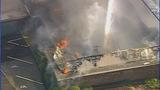 Firefighters battle Salisbury funeral home fire - (1/25)