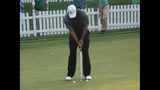 Tiger Woods draws massive crowd at pro-am - (5/25)