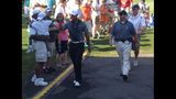 Tiger Woods draws massive crowd at pro-am - (10/25)