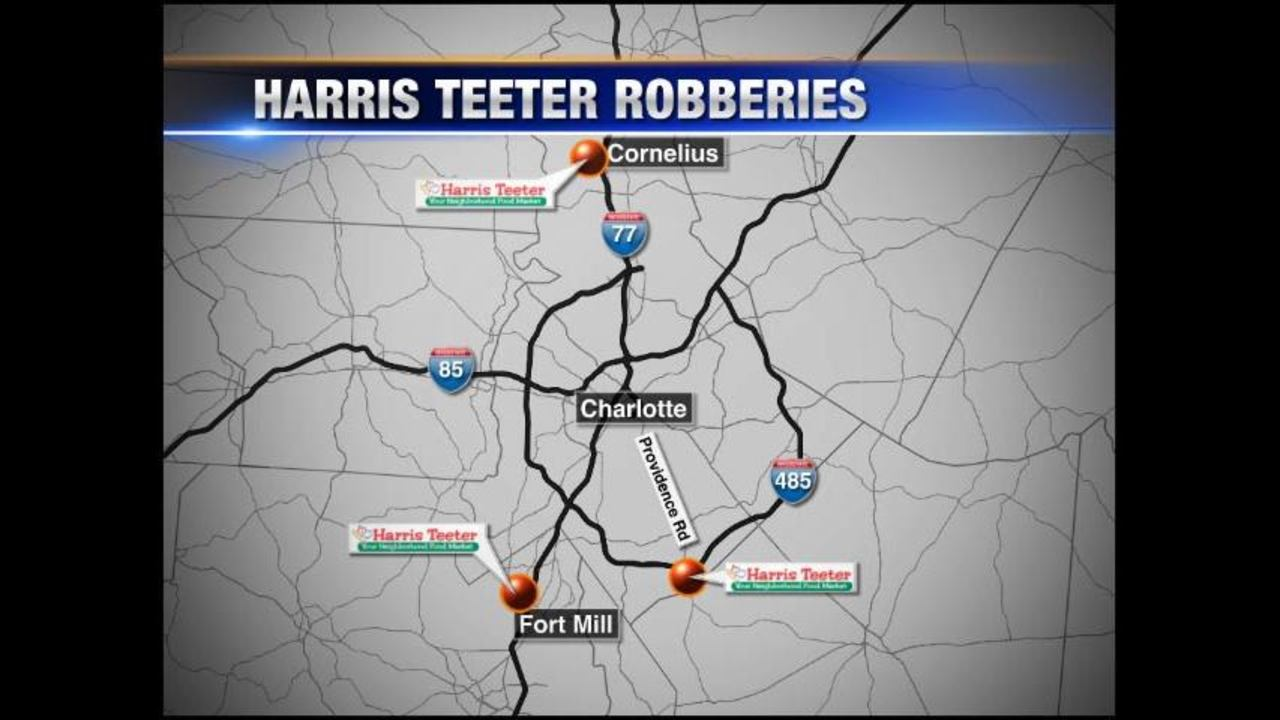 Surveillance video released in Tuesday\'s Harris Teeter robbery | WSOC-TV