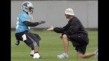 Carolina Panthers minicamp (6-12) - (6/7)