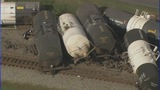 GALLERY: Scene of train derailment in Cramerton - (13/16)