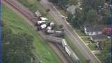 GALLERY: Scene of train derailment in Cramerton - (2/16)