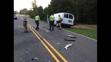 Scene of fatal accident in Weddington - (6/7)