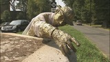 PHOTOS: Historic Myers Park statue knocked down - (8/8)