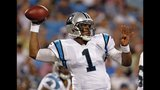 IMAGES: Cam leads Panthers to win over Dolphins - (11/25)