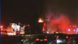 Scene of I-77 tractor-trailer fire - (4/11)