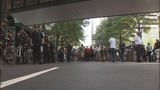 Protesters march through uptown Charlotte - (5/25)