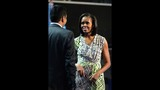 Michelle Obama arrives at the DNC - (17/21)