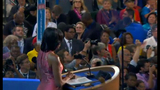 First lady addresses crowd at DNC - (8/20)