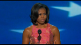 First lady addresses crowd at DNC - (16/20)