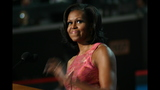 First lady addresses crowd at DNC - (3/20)