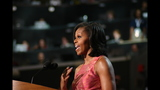 First lady addresses crowd at DNC - (12/20)