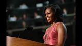 First lady addresses crowd at DNC - (9/20)
