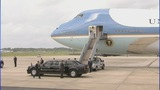 President Barack Obama arrives in Charlotte - (9/11)