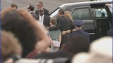 President Barack Obama arrives in Charlotte - (3/11)