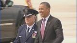 President Barack Obama arrives in Charlotte - (10/11)