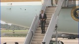President Barack Obama arrives in Charlotte - (7/11)