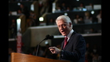 Bill Clinton takes stage during day 2 of DNC - (4/25)