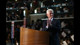 Bill Clinton takes stage during day 2 of DNC - (1/25)