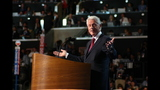 Bill Clinton takes stage during day 2 of DNC - (8/25)