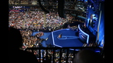 Obama addresses packed arena on final day of DNC - (3/25)