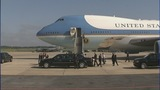 IMAGES: Air Force One departs Charlotte - (18/19)