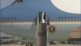 IMAGES: Air Force One departs Charlotte - (7/19)