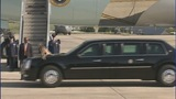 IMAGES: Air Force One departs Charlotte - (10/19)