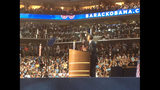Obama addresses packed arena on final day of DNC - (4/25)