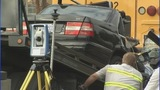 IMAGES: Car slams into CMS school bus - (4/12)