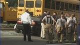 IMAGES: Car slams into CMS school bus - (12/12)