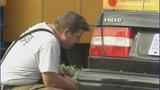 IMAGES: Car slams into CMS school bus - (3/12)
