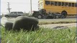 IMAGES: Car slams into CMS school bus - (8/12)