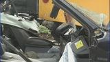 IMAGES: Car slams into CMS school bus - (7/12)