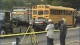 IMAGES: Car slams into CMS school bus - (5/12)
