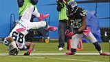 IMAGES: Panthers stumble against Seahawks - (7/15)