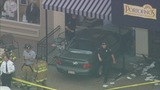 Woman drives her car through restaurant's… - (5/10)