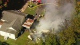 Fire damages Gaston Co. house - (8/12)