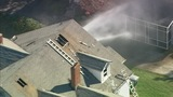 IMAGES: Heavy smoke from house fire in east Charlotte - (11/16)
