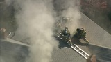 IMAGES: Heavy smoke from house fire in east Charlotte - (14/16)