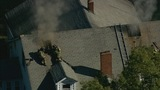 IMAGES: Heavy smoke from house fire in east Charlotte - (12/16)