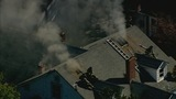 IMAGES: Heavy smoke from house fire in east Charlotte - (13/16)