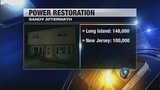 Sandy victims hope for power to be restored Tuesday - (1/5)