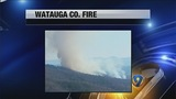 IMAGES: Watauga Co. wildfire now under control - (1/5)
