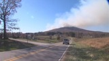IMAGES: 800 acres burned on Pilot Mountain - (5/6)