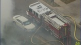 IMAGES: Fire breaks out at Ballantyne home - (9/21)